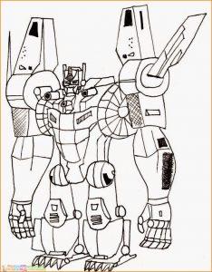 Gambar Mewarnai Robot 01 Marimewarnai