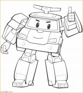 Gambar Mewarnai Robot 13 Marimewarnai
