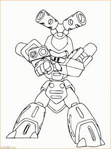 Gambar Mewarnai Robot 15 Marimewarnai