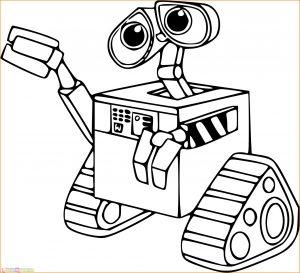 Gambar Mewarnai Robot 16 Marimewarnai