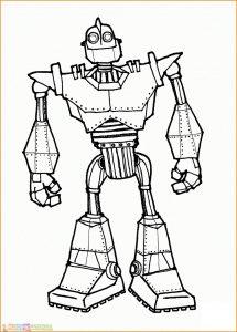 Gambar Mewarnai Robot 20 Marimewarnai
