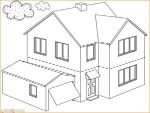 560 Koleksi Mewarnai Gambar Rumah Animasi Gratis