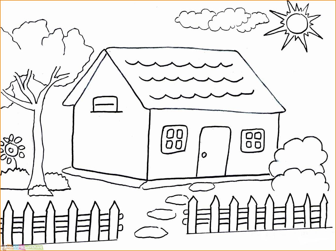 Gambar Rumah Adat Joglo Untuk Mewarnai Rumah Joglo Limasan