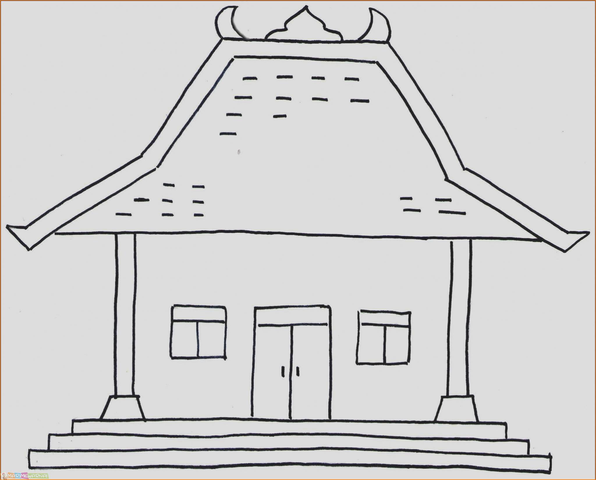 900 Koleksi Membuat Gambar Rumah Adat Betawi Terbaru