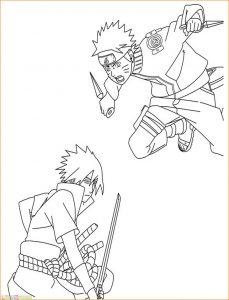 Gambar Mewarnai Sasuke 09 Marimewarnai