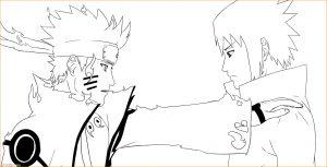 Gambar Mewarnai Sasuke 11 Marimewarnai