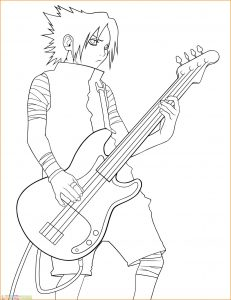 Gambar Mewarnai Sasuke 12 Marimewarnai