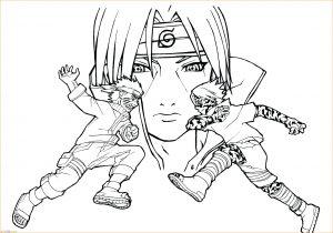 Gambar Mewarnai Sasuke 18 Marimewarnai