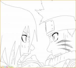 Gambar Mewarnai Sasuke 20 Marimewarnai