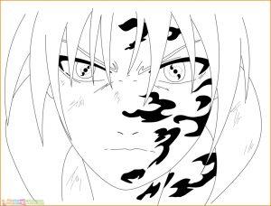 Gambar Mewarnai Sasuke 22 Marimewarnai