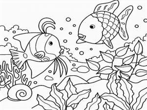 Mewarnai Binatang Laut