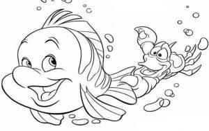 Mewarnai Binatang Laut Ikan