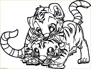 Mewarnai Gambar Harimau 17 Marimewarnai