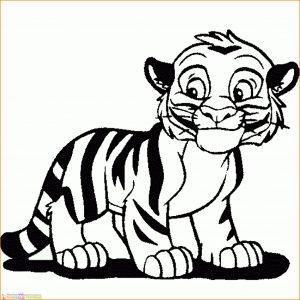 Mewarnai Gambar Harimau 19 Marimewarnai