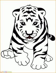 Mewarnai Gambar Harimau 24 Marimewarnai