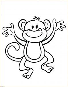 Mewarnai Gambar Monyet 05