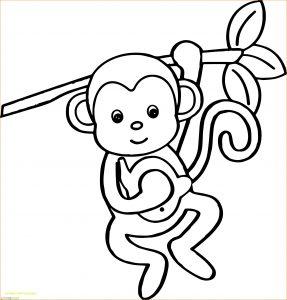 Mewarnai Gambar Monyet 14