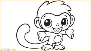 Mewarnai Gambar Monyet 15
