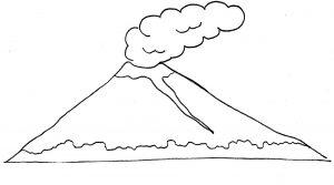 Mewarnai Gunung