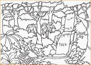 Sketsa Gambar Pemandangan Alam 10
