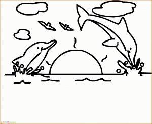 Sketsa Gambar Pemandangan Laut 00