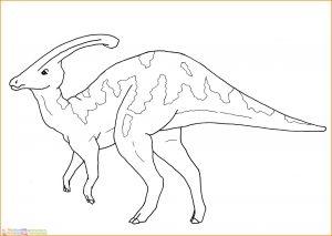 Sketsa Hewan Berkaki Empat Dinosaurus