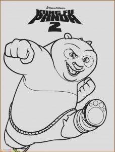 Sketsa Hewan Panda Kungfu Panda 2