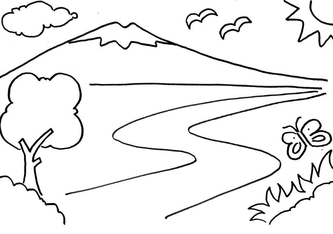 74+ Gambar Anak Tk Gunung Paling Hist