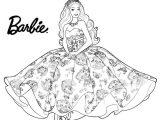Gambar Mewarnai Barbie Princess