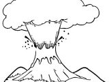 Mewarnai Gunung Merapi Anak TK